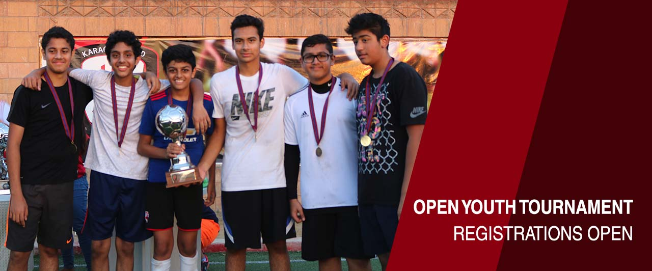 Open Youth Tournament - Registrations open